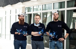 KTU team debuted in international drone racing competition