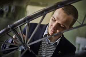 Team of KTU students took the 2nd place in the bridge building competition in Tallinn